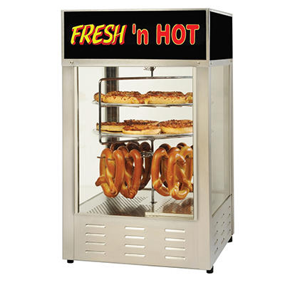 "Gold Medal Pizza and Pretzel Combo Humidified Cabinet - 23"" x 23"""