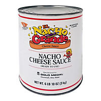 Gold Medal El Nacho Grande Nacho Cheese Sauce (6 lb. 10 oz. can, 6 ct.)