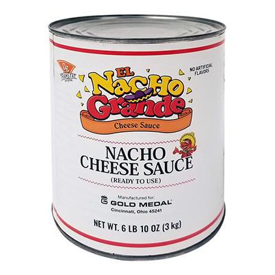 Gold Medal El Nacho Grande Nacho Cheese Sauce - 6 ct. - 6 lbs. 10 oz. each