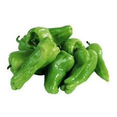 Green Peppers - 25 lbs.