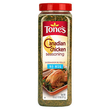 Tone's 18 oz. Canadian Chicken Seasoning