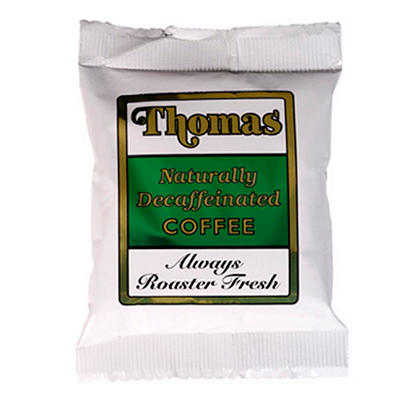 Thomas Coffee Decaffeinated Coffee Packs - 64 count