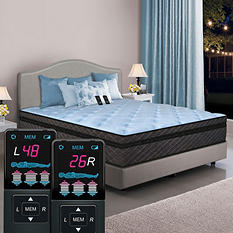 Dual Digital Memories Pillowtop Air Bed