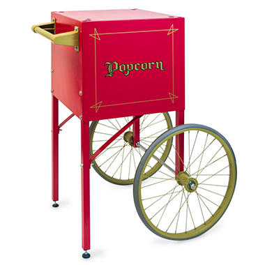 Gold Medal® 2649CR Popcorn Machine Cart - Red