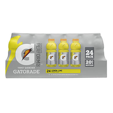 Gatorade G Series 02 Perform - Lemon Lime - 20 oz. - 24 ct.