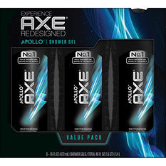 AXE Revitalizing Shower Gel, Apollo (16 fl. oz., 3 pk.)