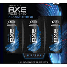 AXE Revitalizing Shower Gel, Phoenix (16 fl. oz., 3 pk.)