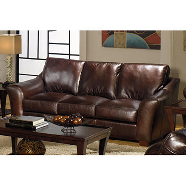 Quest Leather Regan Sofa