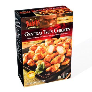 $2.00 off Kahiki Foods General Tso's Chicken