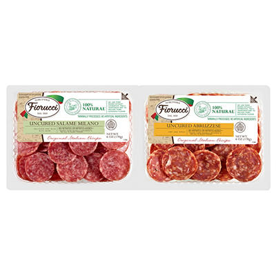 Fiorucci Snacking Salami, Twin Pack (6 oz. pks., 2 ct.)