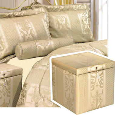 Diva Treasure Chest Bedroom Ensemble - King - 6 pc.