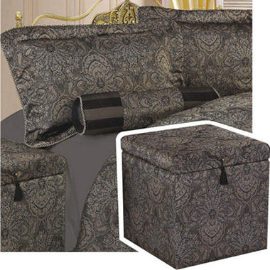 Ritz Treasure Chest Bedroom Ensemble - King - 6 pc.
