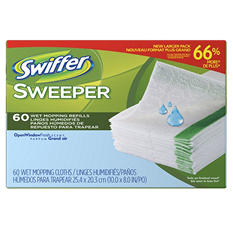 Swiffer Wet Refills, Open Window Fresh Scent (120 ct.)