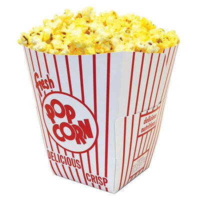 Gold Medal Popcorn Boxes, 3.75 oz. (200 ct.)