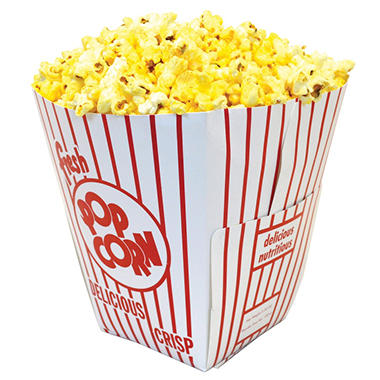 Gold Medal Popcorn Boxes, 5.5 oz. (200 ct.)