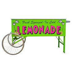 Gold Medal Lemonade Cart