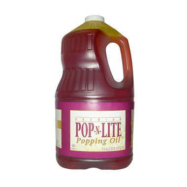 Gold Medal Pop -N- Lite Popping Oil (gal. jug, 4 ct.)