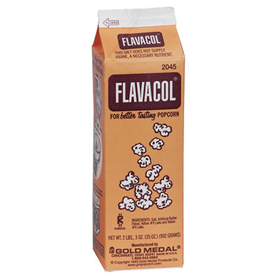 Gold Medal Flavacol Seasoning Salt Packed - 6 pk. - 2 lbs. 3 oz. cartons
