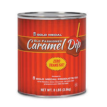 Gold Medal Old Fashioned Trans Fat Free Caramel Dip (8 lb. cans, 6 ct.)