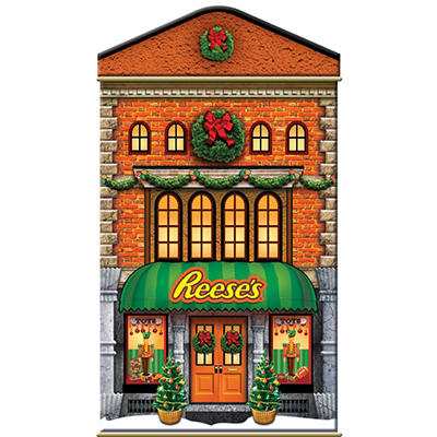 Hershey Miniatures Holiday Tin (choice of Reese's or Kisses)