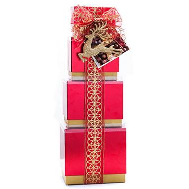 Gourment Sweet Treats Tower Gift Set - 26.4 oz.