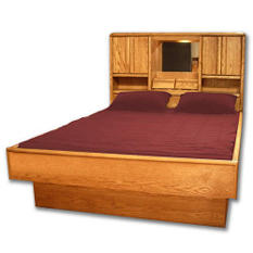 Grand Retro Waterbed Frame Set - Queen