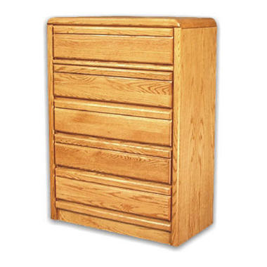 American Sleep Collection 5-Drawer Oak Chest