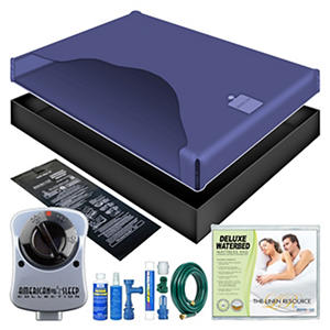 Premium Free Flow Waterbed Mattress Kit- Queen