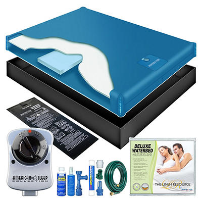 Motion Reduced Waterbed Mattress Kit - King