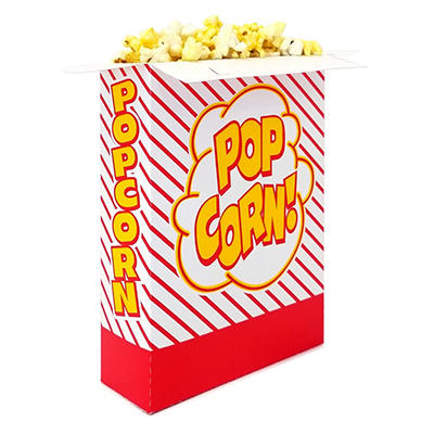 Gold Medal Popcorn Boxes, 3.3 oz. (250 ct.)