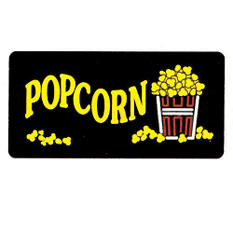Gold Medal® 2984 Lighted Popcorn Sign