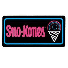 Gold Medal® Lighted Sno-Kone Sign