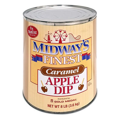Midway's Finest Caramel Apple Dip - 8 lb. - 6 pk.