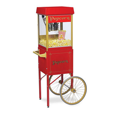 "Gold Medal® 2404SC ""Funpop""  Popper with Cart"