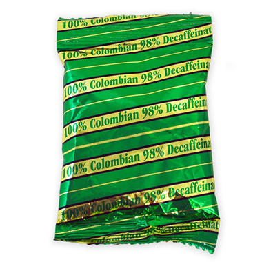Gold Medal Decaffeinated Colombian Supremo Coffee Packs - 100 ct.