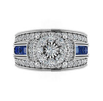 Click here for 1.70 ct. t.w. Diamond Engagement Ring in 14KW 5 prices