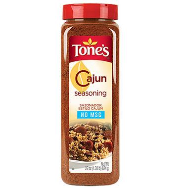 Tone's® Cajun Seasoning - 22 oz. shaker