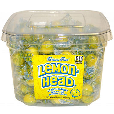 Lemonhead Candy Drops - 2 lb. Jar - 140 ct.