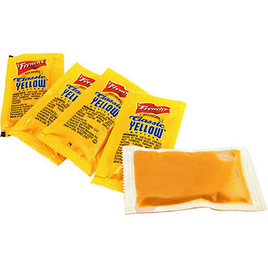 French's Mustard Packets - 500 ct.