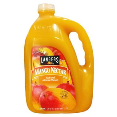 Langers Mango Nectar - 128 oz.