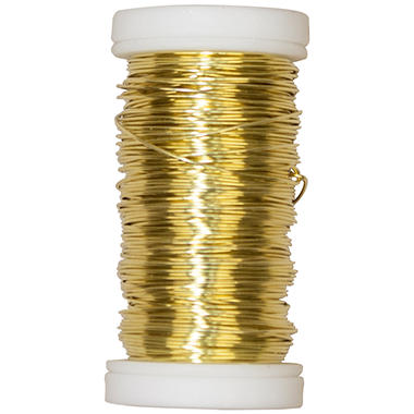 OASIS Gold Metallic Wire - 25 GA