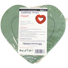 OASIS Heart Shaped Floral Foam