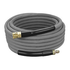 Black Max Rubber Non-Marking High Pressure Hose - 50' 3/8""