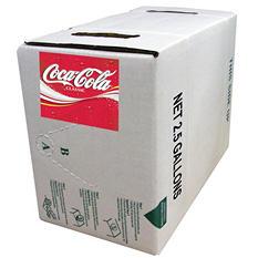 Coca-Cola 2.5-Gallon Bag-In-Box Fountain Syrup