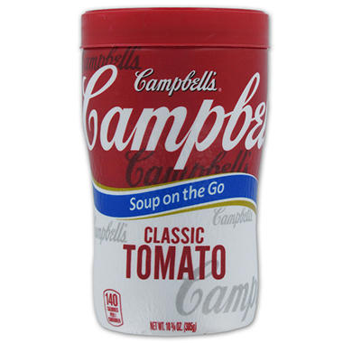 Campbell's Classic Tomato Soup at Hand - 10.75 oz. Cup - 8 ct.