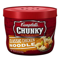 Campbell's Micro Chunky Chicken Noodle (15.25 oz. Cup)