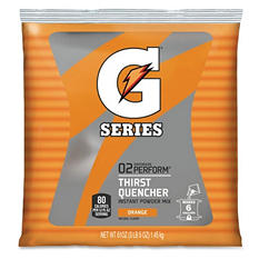 Orange Gatorade Mix - Mix up to 6 Gallons - 51 oz. Bag