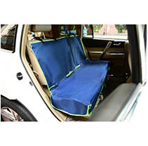 Click here for Iconic Pet FurryGo Car Bench Seat Cover  Navy Blue prices