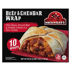 505 Southwestern MexiWraps, Beef & Cheddar (10 wraps)