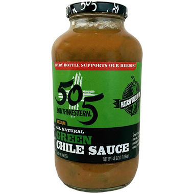 505 Southwestern Green Chile Sauce (40 oz.)